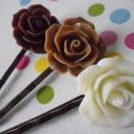 Triple Chocolate Vintage Rose Bobby..