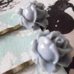 A Pair of Smoky Grey Vintage Rosebu..